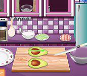 Sara´s Cooking Class California Rolls
